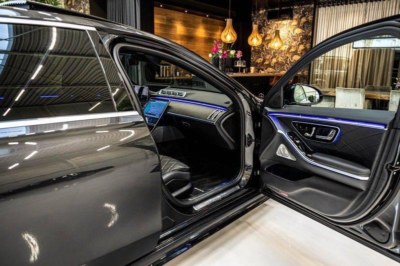 Mercedes-Benz S-Klasse 400d 4Matic Lang AMG | 3D Display | Augmented Head-Up Display | Burmester 3D | Pano | Memory afbeelding 24