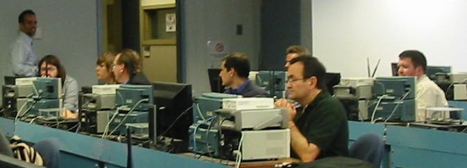 Mike McLernon Mathworks hackathon at NEWSDR 2013, WPI