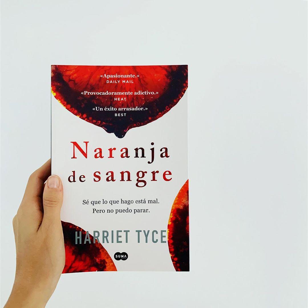 """Imagen de Reseña de """"Naranja De Sangre"""", de Harriet Tyce"""