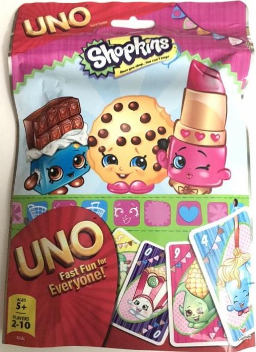 Shopkins Uno