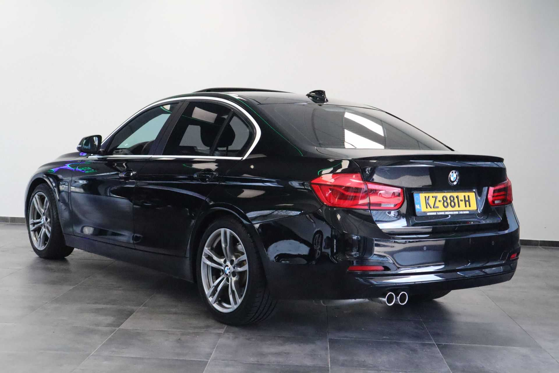 """BMW 3 Serie 330e M Sport Full Led Navigatie Clima Cruise 18""""LM afbeelding 5"""