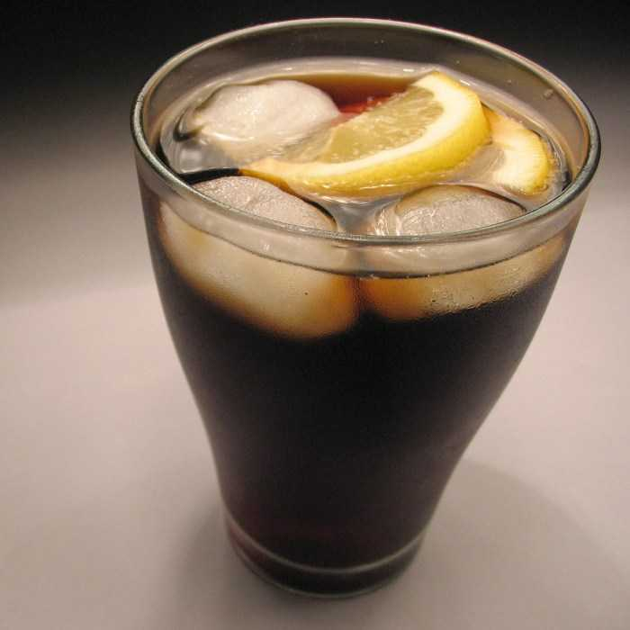 Coke and Drops Cocktail