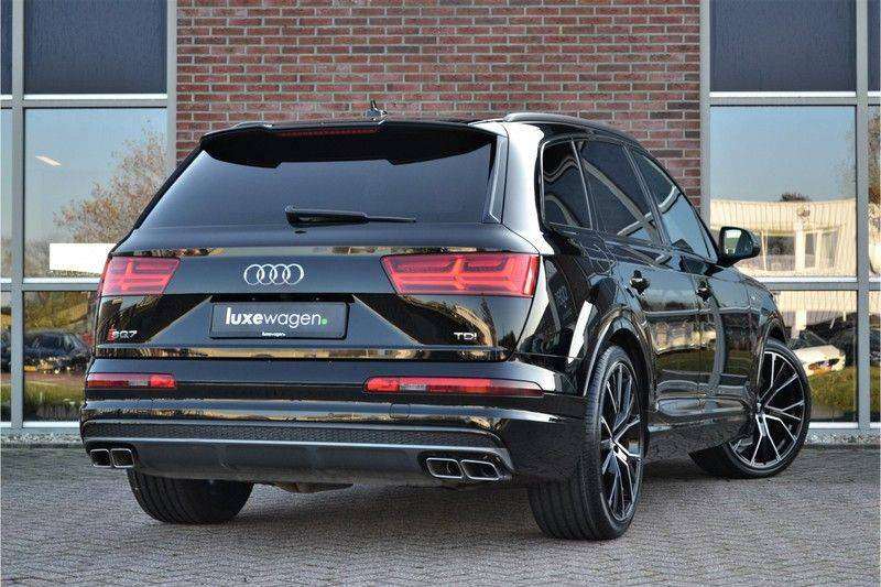 Audi SQ7 4.0 TDI 435pk quattro Pano Nachtz ACC HUD 4wielbest Ruitstiksel Luchtv 22inch Carbon afbeelding 2