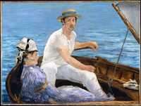 'Boating' by Edouard Manet, 1874 currently at Metropolitan Museum of Art, New York