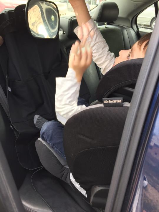 espejo automovil bebe