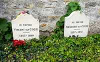 Vincent Van Gogh and his brother Theo's graves at Auvers-sur-Oise Cemetery (© Héric SAMSON, CC BY-SA 3.0)