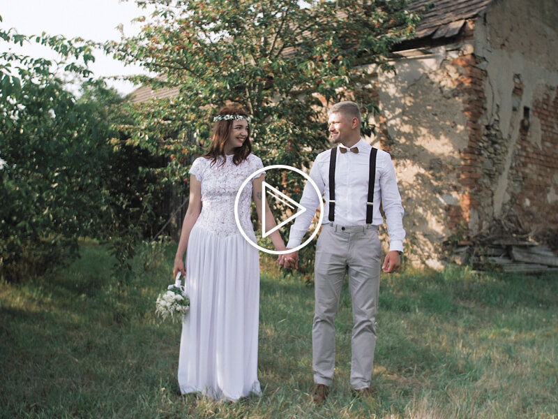 Kateřina a Tomáš svatební video