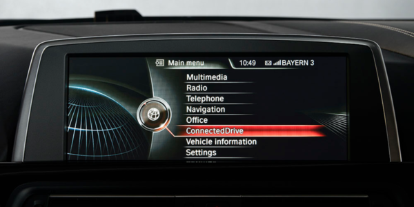 Infotainment ConnectedDrive security code