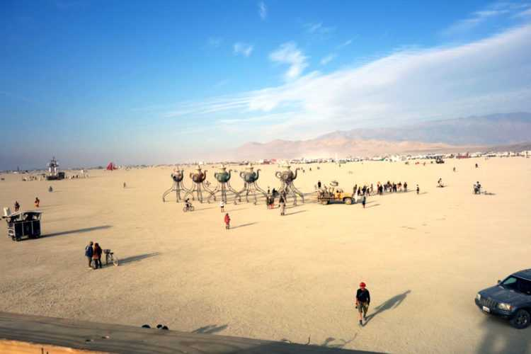 Burning Man Tea Cups