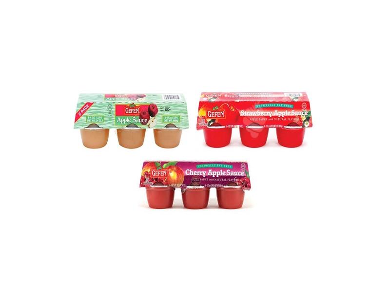 Gefen Apple Sauce Range (187g)
