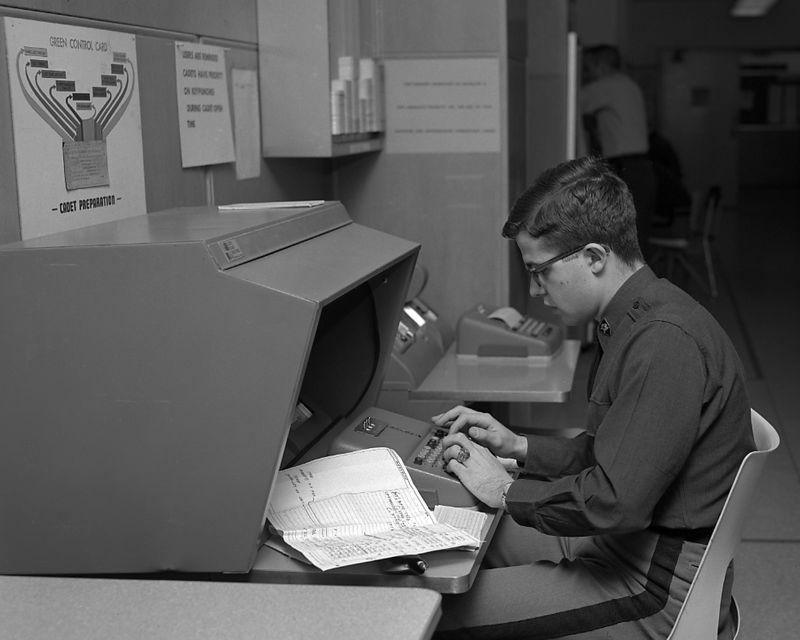 Cadet at Full-Screen Terminal