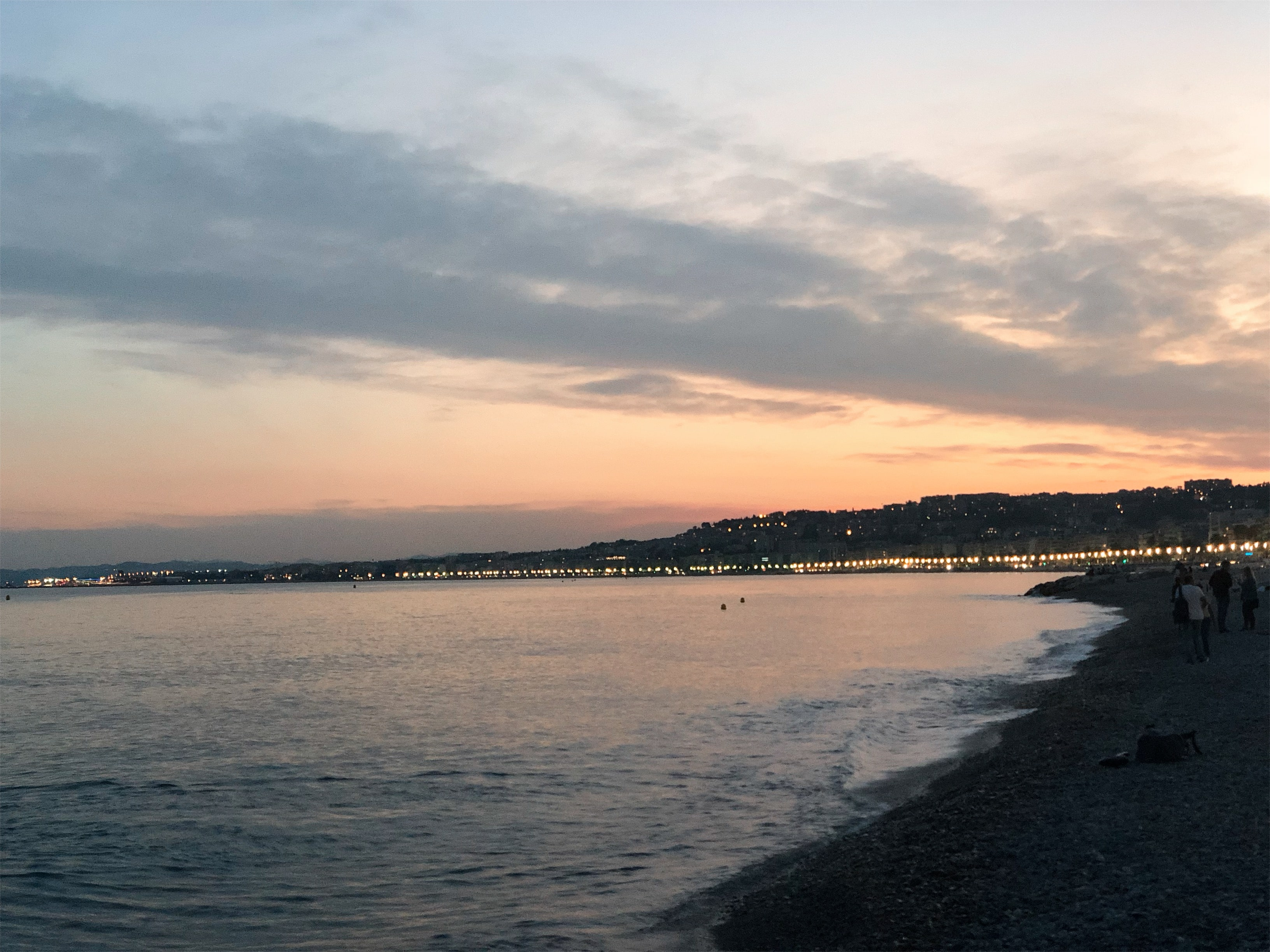 Sunset at Nice