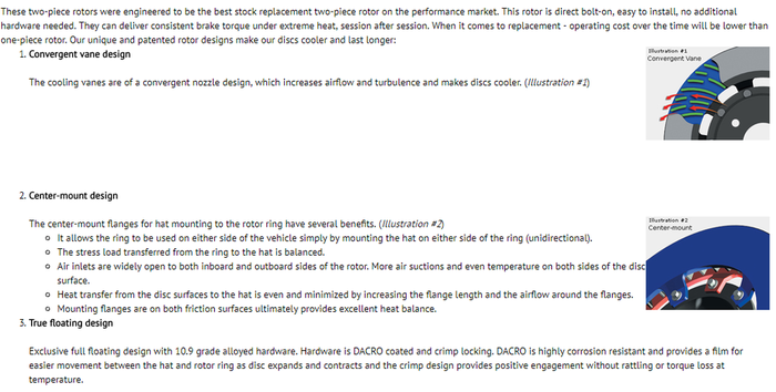 Ford RS Brake Upgrade