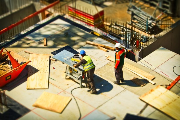 Construction site risk assessment