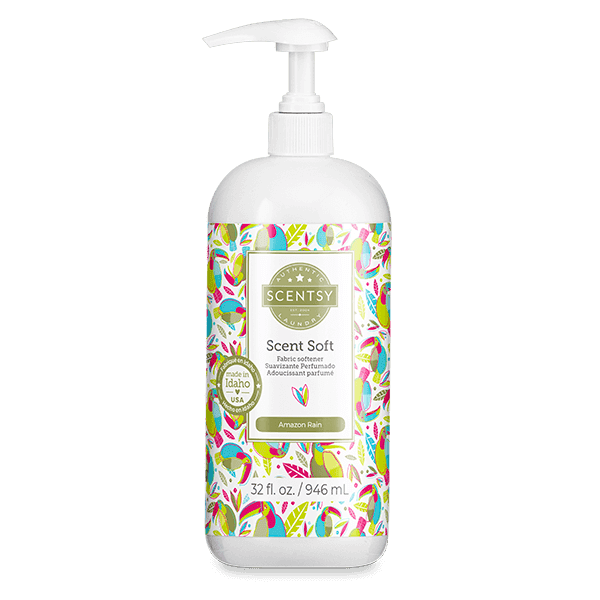 Amazon Rain Scent Soft Fabric Softener
