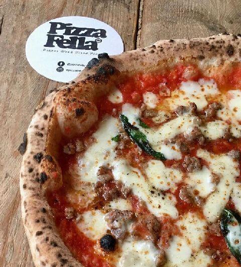 Pizza Fella backboard