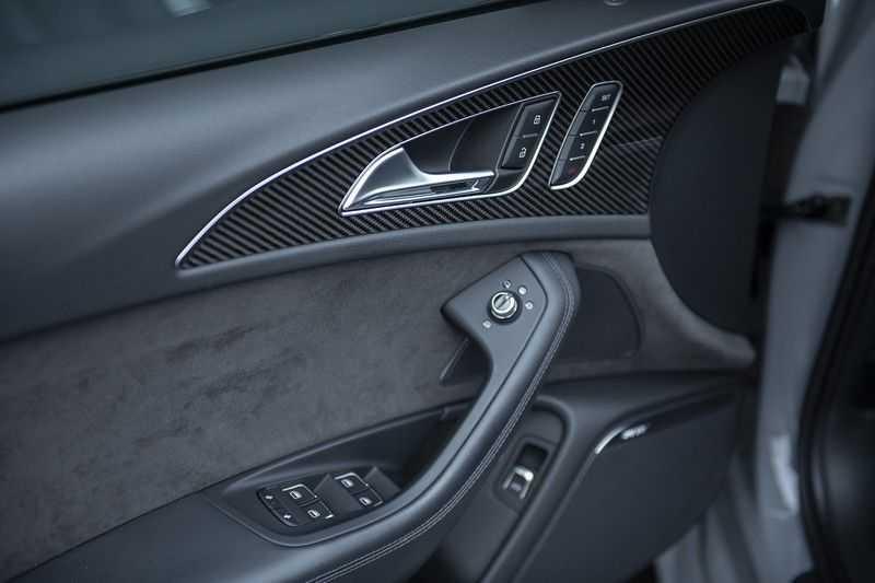 Audi RS6 Performance Pro Line Plus 4.0 TFSI quattro 605PK BTW + Keramisch + Carbon + Nardo Grey + Panoramadak + 4 nieuwe banden afbeelding 23