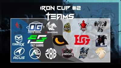 IRON Siege Cup#2 Die Paarungen