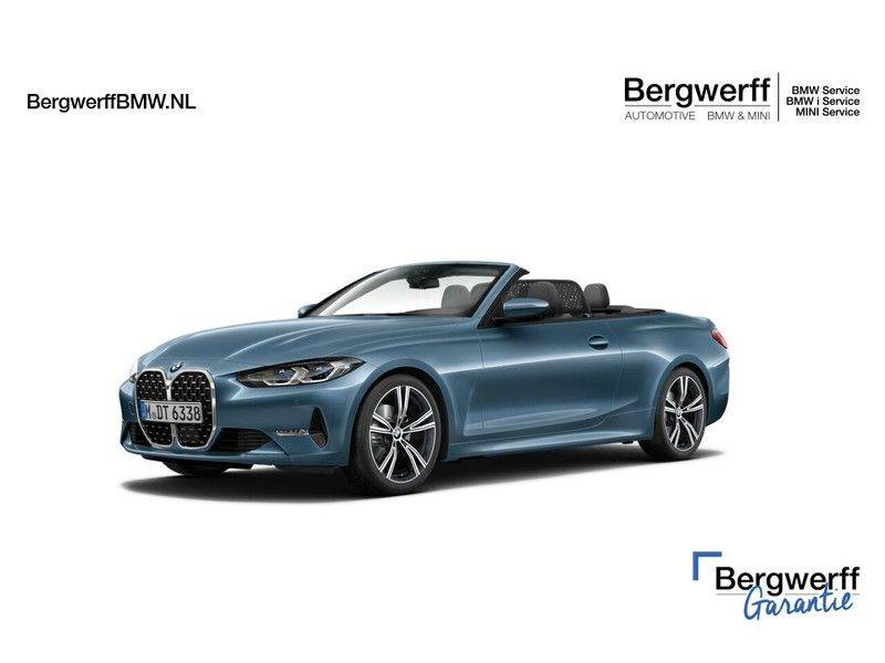 BMW 4 Serie Cabrio 420i High Executive - Head-up - Harman Kardon - Driving Ass. Prof afbeelding 1