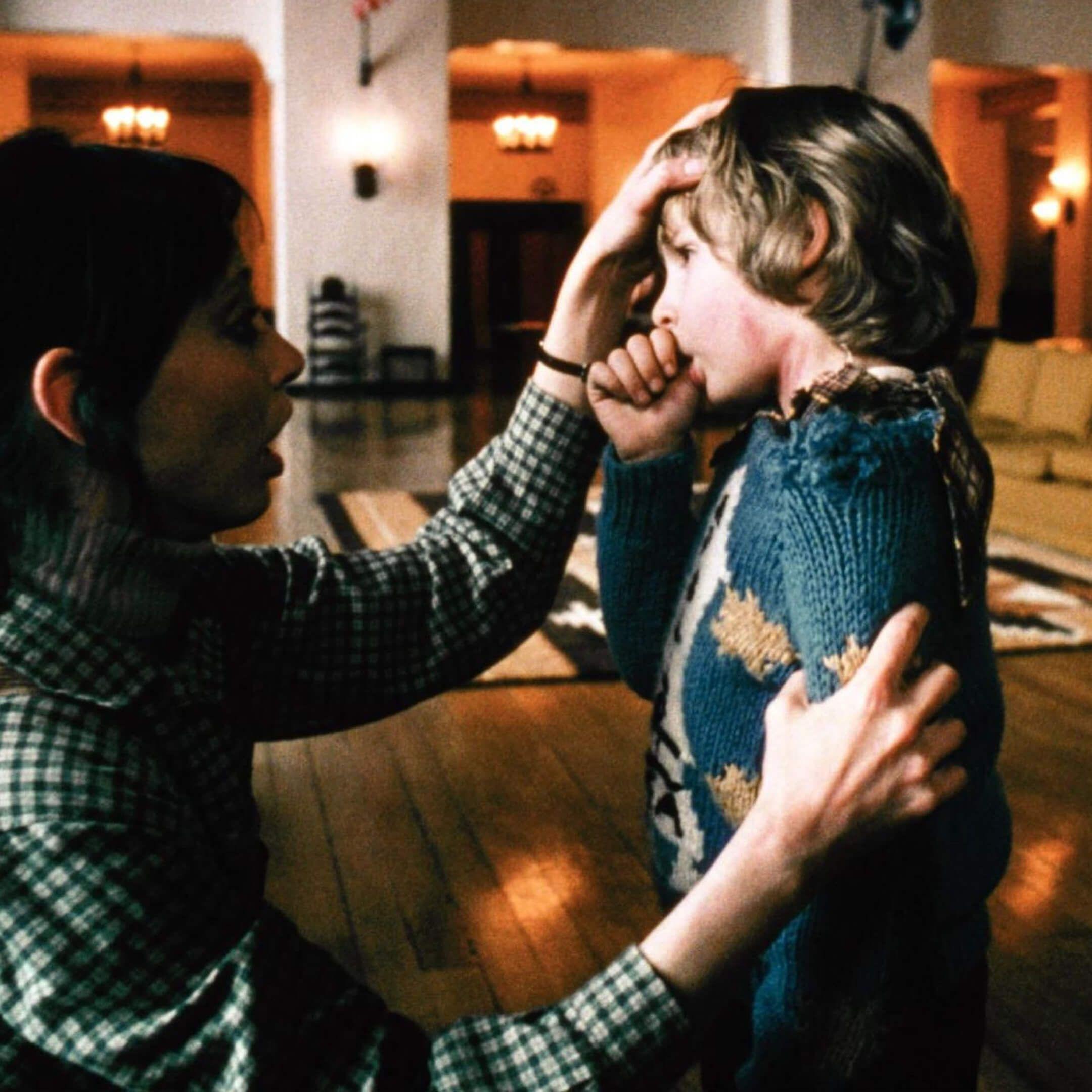 Кадр изфильма «Сияние». Режиссер Стэнли Кубрик, 1980год. Источник: imbd.com
