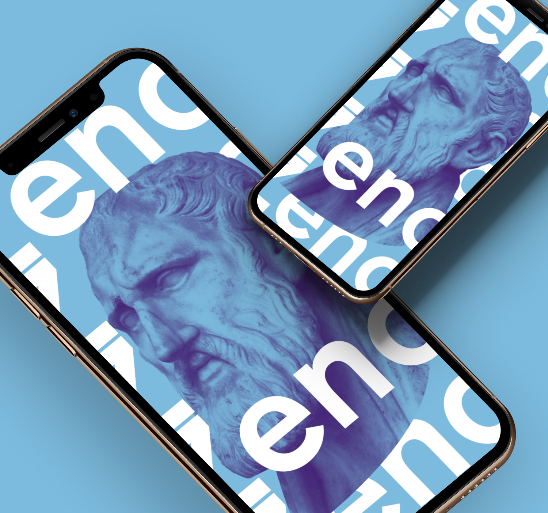 Zeno wallpaper on iPhone
