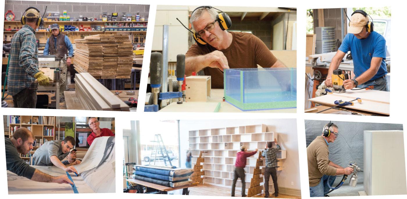 FHD Eexhibit fabrication jobs