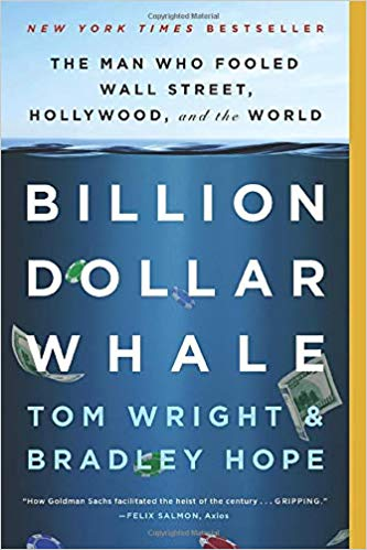 Billion Dollar Whale: The Man Who Fooled Wall Street, Hollywood, and the World book cover