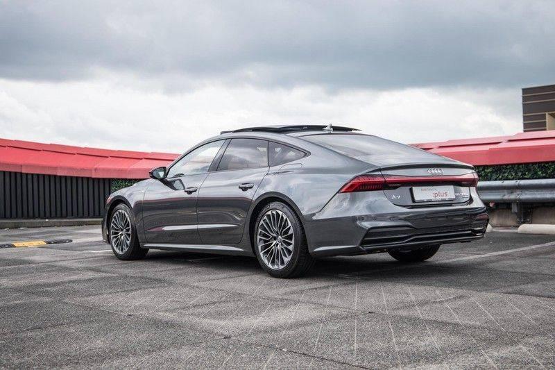 Audi A7 Sportback 55 TFSI e 367 pk Quattro Competition | Verlengde garantie | 2 x S-Line | Nachtzicht-assistent | panorama dak | Head-up display | Trekhaak | 360 camera | Stoelverwarming vóór en achter | afbeelding 13