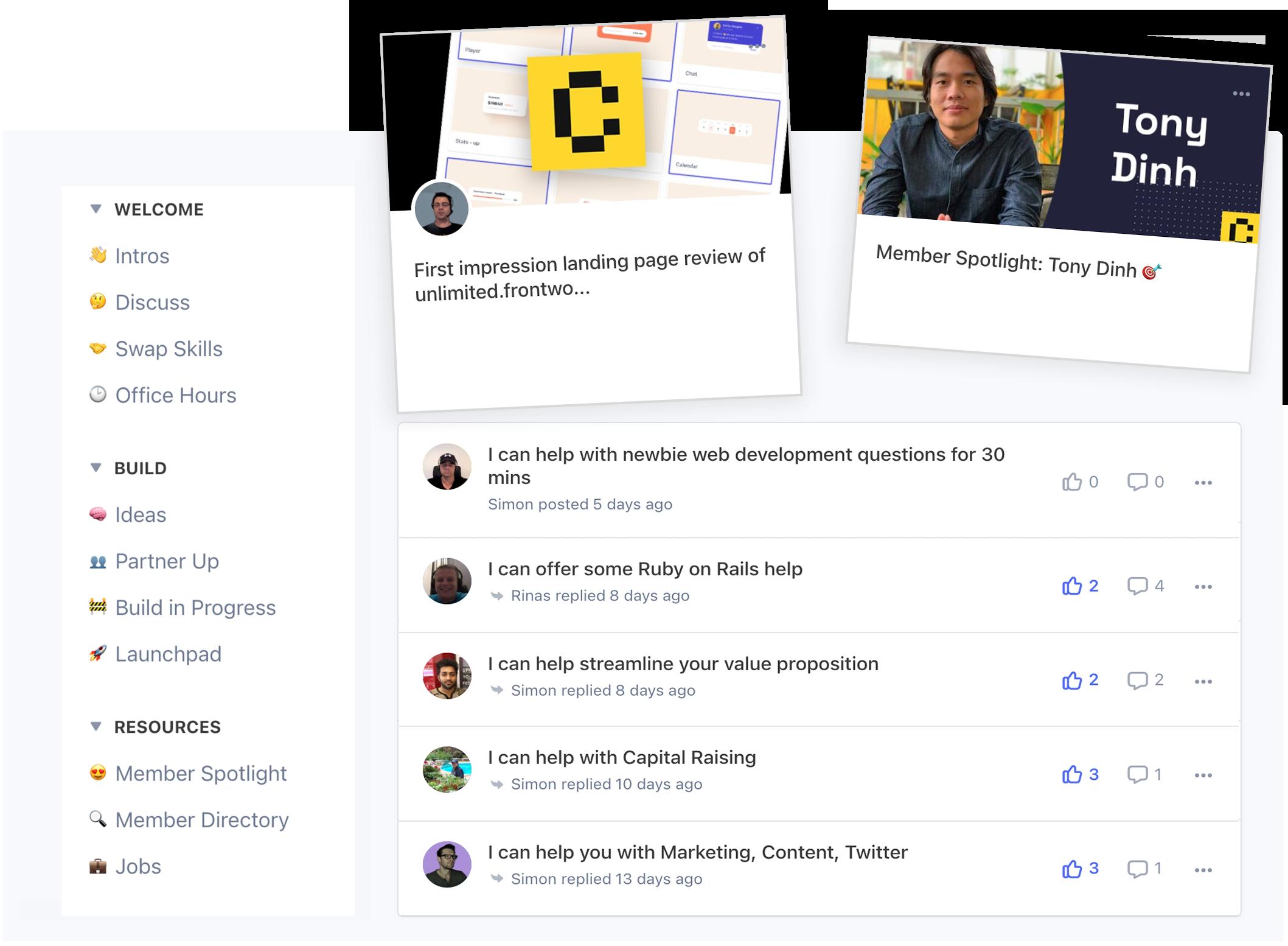 CodeSwaps community
