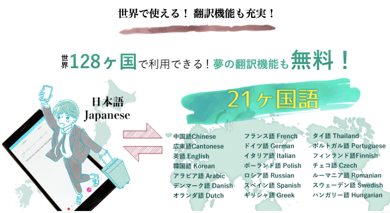Mugen Wifi地図・翻訳