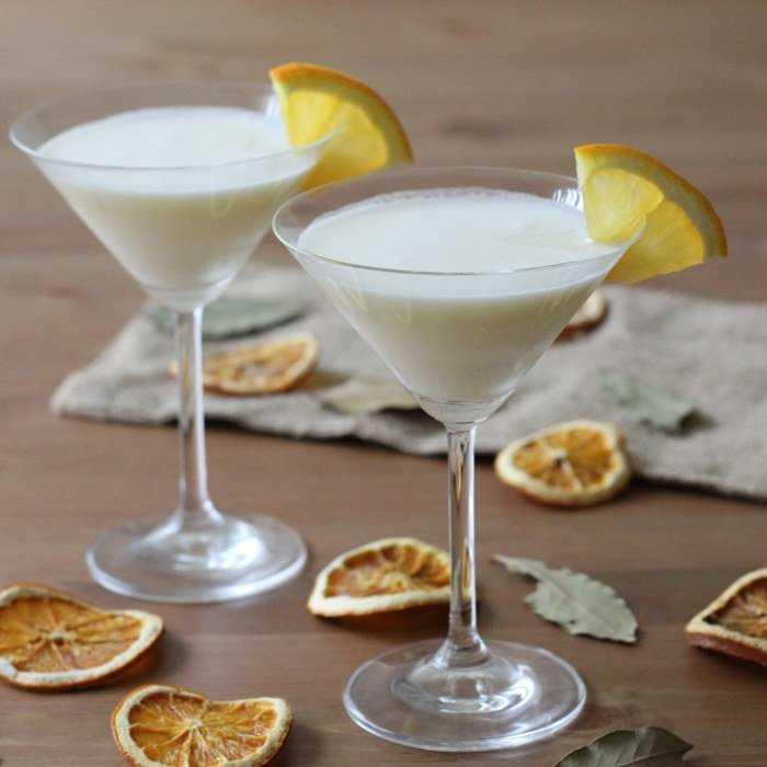 Lady Love Fizz Cocktail