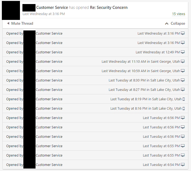 Sidekick email tracking 2nd email