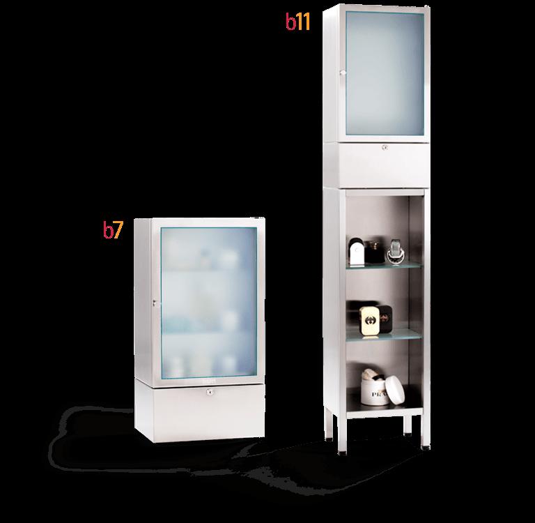 Kühlschrank für Kosmetik / Edelstahl Kosmetik Kühlschrank