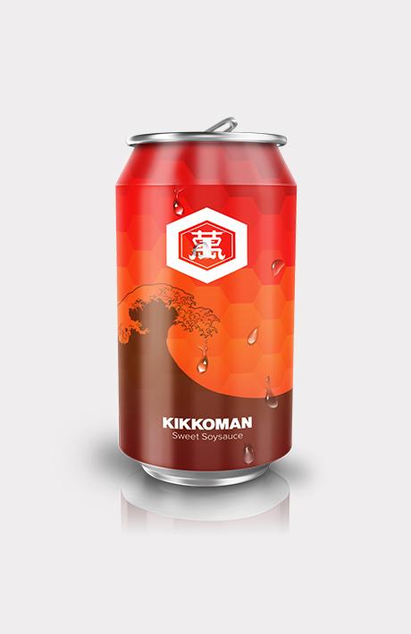 Kegham + Condiment Cans