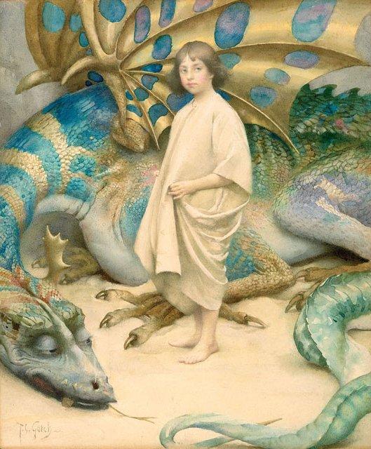 Innocence 1904\. Thomas Cooper Gotch