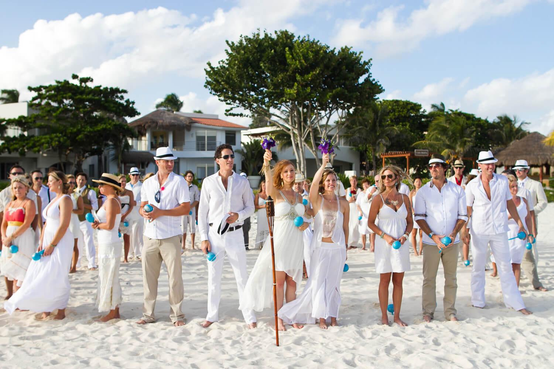 playa del carmen wedding photography