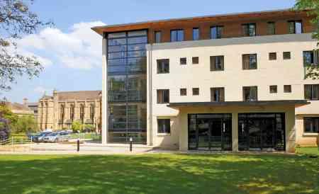 Garden Building Mansfield College Oxford