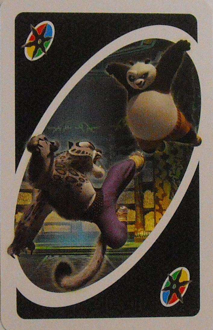 Kung Fu Panda Uno (Kickin' Battle Card)