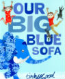 Our big blue sofa by Tim Hopgood