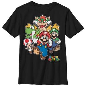 Mario Start Race for Kids - T Shirt