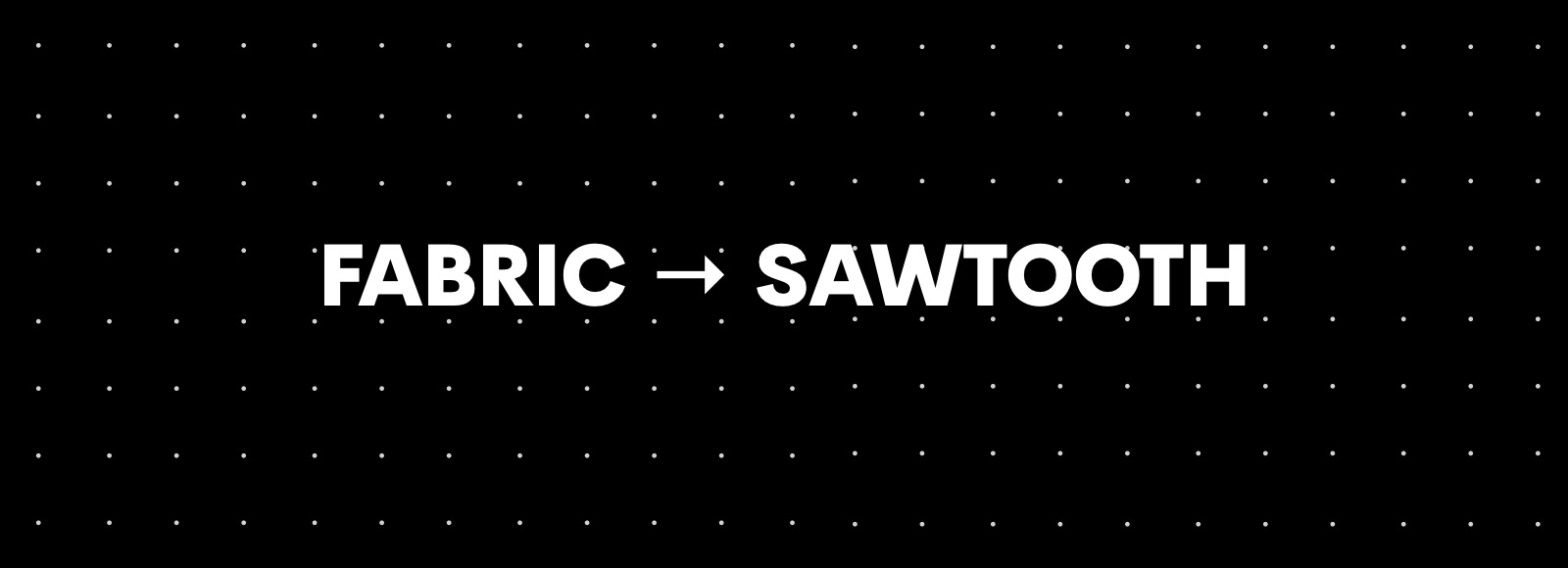 Know Hyperledger Fabric? Then moving to Sawtooth is easy