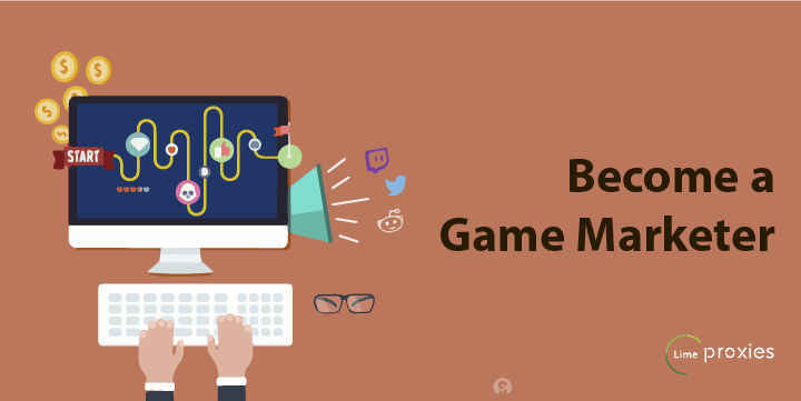 Make Money with Video Games - Become a game marketer