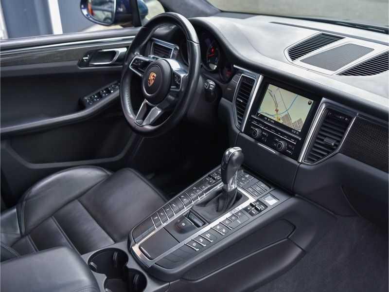 Porsche Macan 3.6 Turbo PDK 400pk Lucht Carbon Pano Zetels-18-weg Alcant.hemel Led Leder-dash afbeelding 5