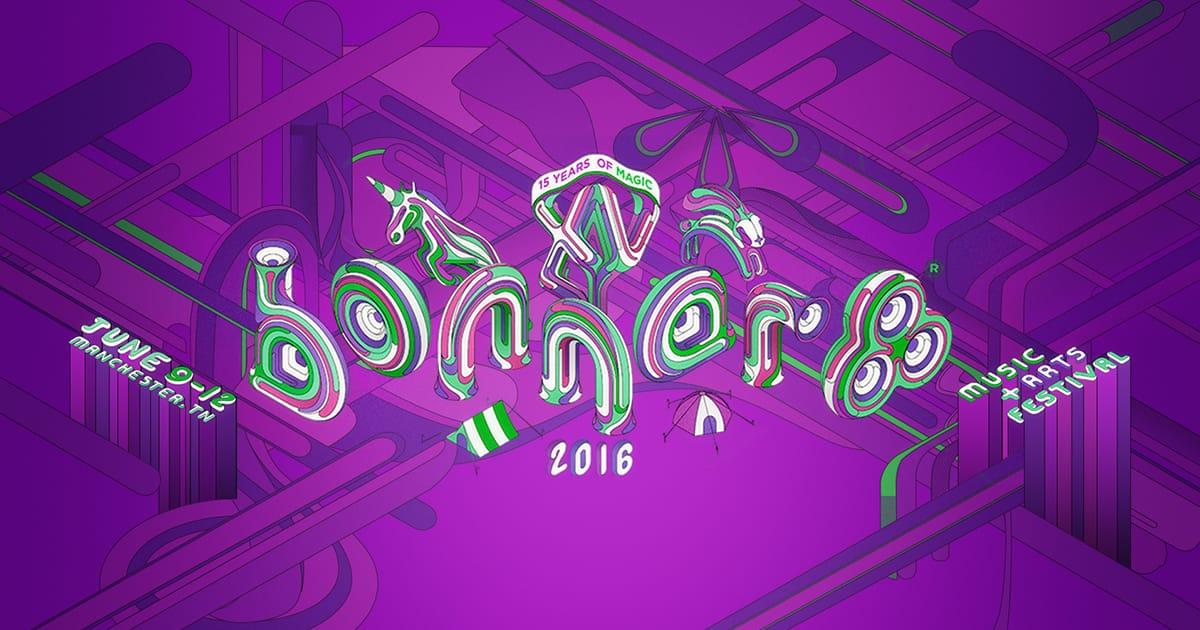 Bonnaroo 2016 logo