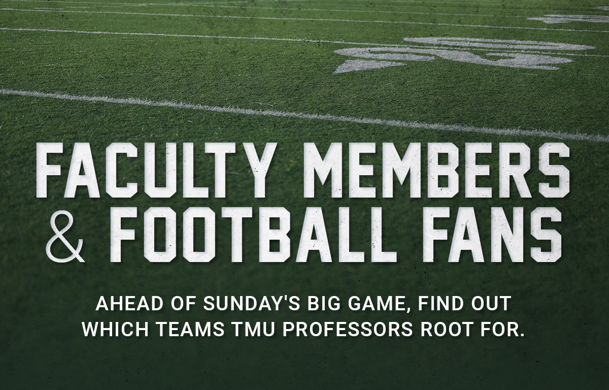 Faculty Members & Football Fans image