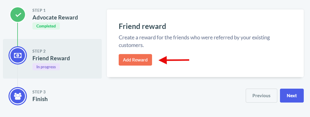 Friend reward
