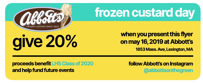 Abbott's Frozen Custard Day