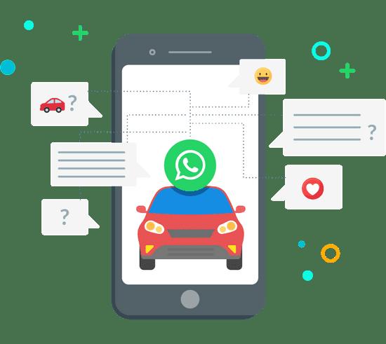 Digitalize sua concessionária para atender pelo WhatsApp