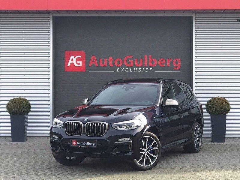 BMW X3 M40i VERKOCHT X-Drive M-Sport, 360PK, Pano, Head-Up, Keyless, Camera, Navi, Leder, 20INCH BTW! afbeelding 4