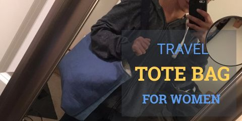 The Most Popular Travel Tote Bag for Women